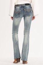 """Miss Me """"Studded"""" Mid-rise Bootcut Jean 26"""