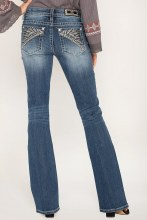 In Your Tribe Bootcut Jeans 25