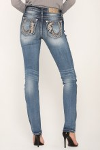 """Miss Me """"Lucky Feather"""" Skinny Jeans"""