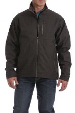 Men's Concealed Carry Bonded Jacket Chocolate
