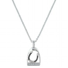 Montana Silversmiths Horseshow Stirrup Necklace