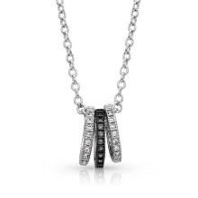 Montana Silversmiths Mini Three Ring Necklace