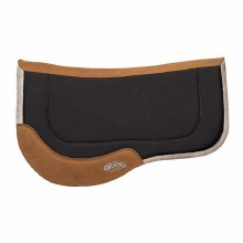 Black All Purpose Trail Gear Contoured Wool Blend Saddle Pad
