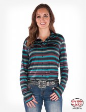 Cowgirl Tuff Button-Down Pull Over XS