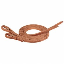 Harness Leather Buckle End Split Reins