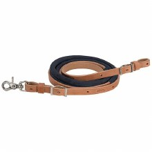 Suede Covered Barrel Reins