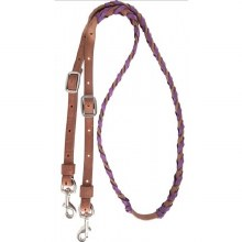 Latigo Laced Barrel Reins