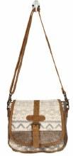 Flapover Hairon Cross Body Bag