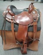 """Black Rhino Saddle 14"""" Used"""