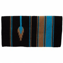 "Double Weave Acrylic Saddle Blanket 32"" X 64"""