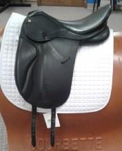 """Collegiate Dressage Saddle 18"""" Used"""