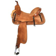 "Circle Y Edna Barrel Saddle 14.5"" Wide"