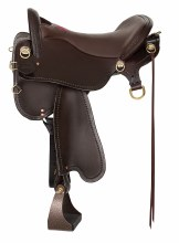 SADDLE ENDURANCE 16.5 MD BRASS
