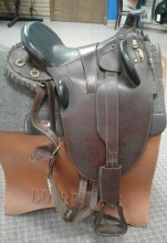 """Outback Aussie Saddle 17"""" Used"""