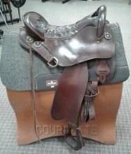 """Tucker Endurance Saddle 17"""" Used"""