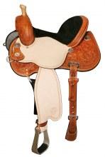 USED Circle Y Lisa Lockhart Trophy Barrel Saddle