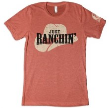 Just Ranchin Tee Clay M