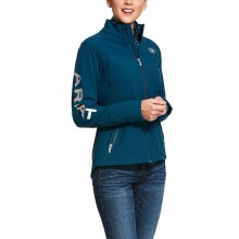 Ariat Team Softshell Jacket Dream Teal Small