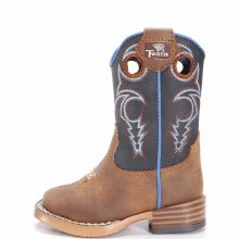 Twister Toddler Ben Zip Up Square Toe Boot