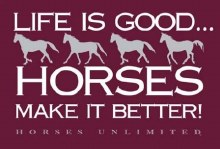 Horses Unlimited Better Tee S