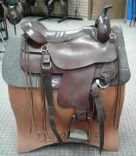 "Tucker Cheyenne Gen II Trail Saddle 17.5"" Used"