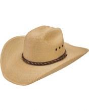 Resistol Jason Aldean Wheels Rollin Palm Leaf Hat