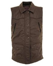 Outback Trading Company Roundup Vest Bronze