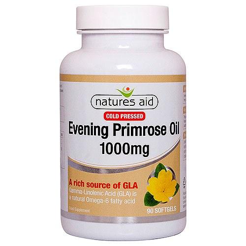Nature's Aid Evening Primrose Oil 1000mg 90 Capsules