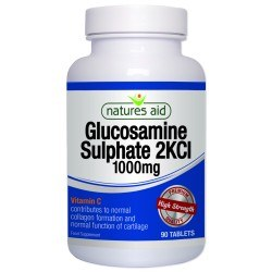 Nature's Aid Glucosamine sulphate 2kcl 1000mg 90 Tablets