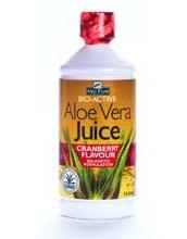 Aloe Pura Aloe Vera Juice Cranberry Flavour 1Litre