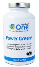 One Nutrition Power Greens Powder 100g