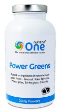 One Nutrition Power Greens Powder 200g