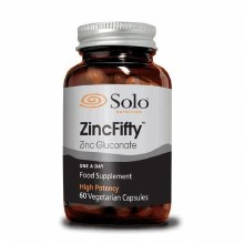 Solo ZincFifty 60 Capsules