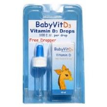 Shield Health Baby Vitamin D3 Drops 6 Month Supply
