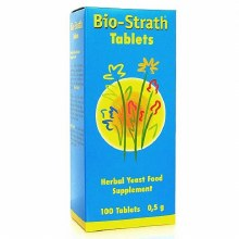 Bio-Strath Herbal Yeast 100 Tablets