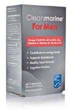 Cleanmarine Krill Oil For Men 60 Capsules