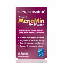 Cleanmarine MenoMin For Women 60 Capsules