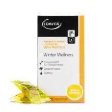 Comvita Winter Wellness Manuka Honey Lozenges Lemon & Honey Flavour 12 Lozenges