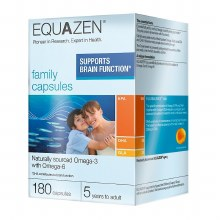 Equazen EyeQ Family Omega 3 & 6 Oil (180 Capsules)