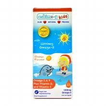 Eskimo-3 Kids Omega 3-6-9 with Vitamin D and E - Orange 210ml