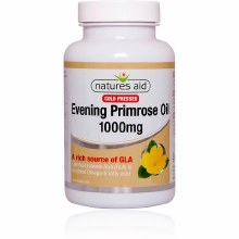 Natures Aid Evening Primrose Oil 1000mg (180 Capsules)