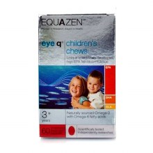 Equazen EyeQ Children's Chews Omega 3 & 6 Oil - Strawberry (60 Capsules)