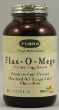 Flora Flax Oil 1000mg (90 Capsules)