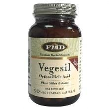 Flora Vegesil - Orthosilicic Acid 90 Capsules