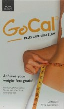GoCal Plus Saffron Slim 60 Tablets