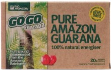 Rio Amazon GoGo Guarana 500mg (20 Capsules)