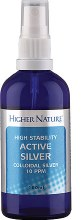 Higher Nature High Stability Colloidal Silver 10ppm 100ml