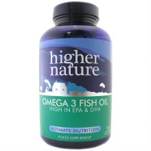 Higher Nature Omega 3 Fish Oil 1000mg (180 Capsules)