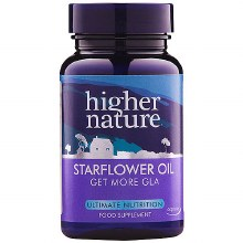 Higher Nature Starflower Oil 1000mg (90 Capsules)