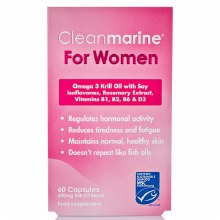 Cleanmarine Krill Oil For Women (60 Capsules)